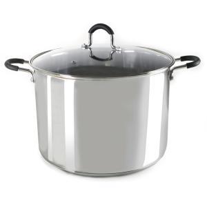 Gryte 10 liter stål med induksjonsbunn